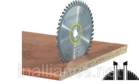 Пильный диск с мелким зубом 260 x 30 х 2,5 W80 Festool 494605
