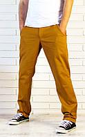 """Джинсы чинос """"Горчица"""" мужские брюки"""