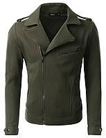 Куртка косуха толстовка с начёсом их хлопка 2 цвета