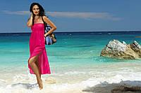 Пляжное платье малиновое SUKIENKA 2 F43 526