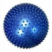 Мяч для фитнеса массажный (фитбол с шипами) 85 см