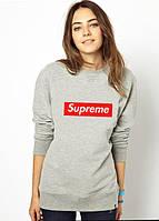 "Свитшот женский ""Supreme"", суприм"