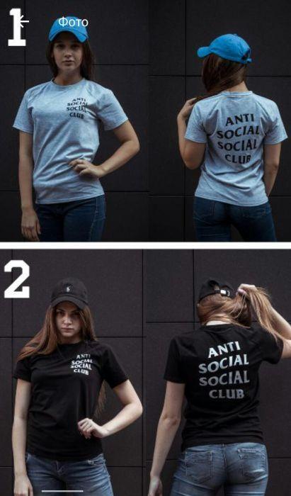 "Футболка женская ""Anti Social Social Club"""