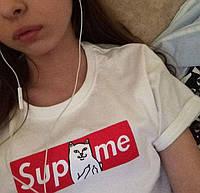 "Футболка женская ""Supreme Ripndip"""