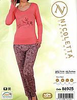 Пижама женская с надписью - Вискоза