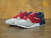 Мужские кроссовки Reebok GL 6000 blue-red-grey