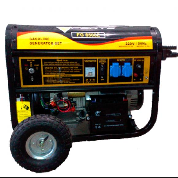 Генератор бензиновый, станция электрическая  FORTE FG 6500
