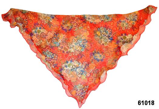 Нежный шейный платок 60*60  (61018) 2