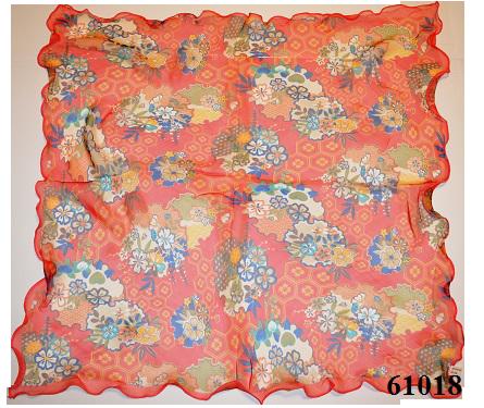 Нежный шейный платок 60*60  (61018) 3