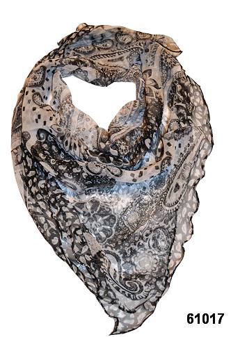 Нежный шейный платок 60*60  (61017) 1