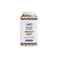 Snake Brand Prickly Heat lavender - Тальк для гигиены лица и всего тела / 140g