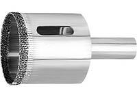 Сверло по стеклу и керамической плитке, 60 х 67 мм, 3-гранный хвостовик MATRIX