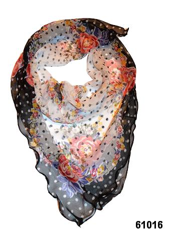 Нежный шейный платок 60*60  (61016) 1