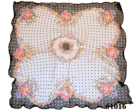 Нежный шейный платок 60*60  (61016) 3