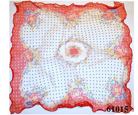 Нежный шейный платок 60*60  (61015) 3