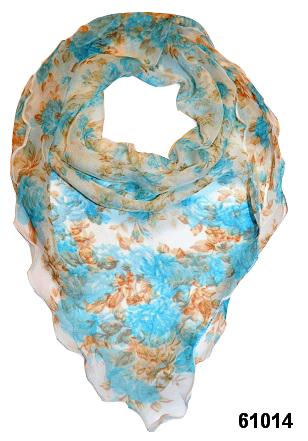 Нежный шейный платок 60*60  (61014) 1