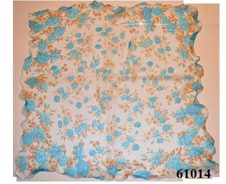 Нежный шейный платок 60*60  (61014) 3