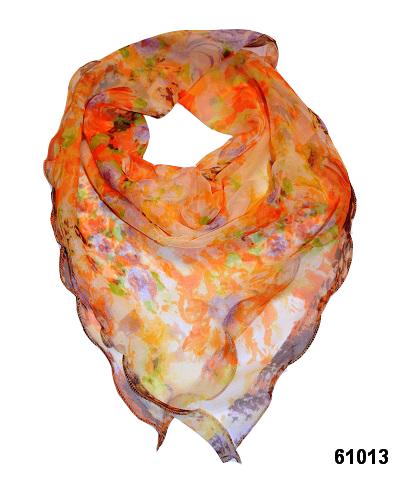 Нежный шейный платок 60*60  (61013) 1