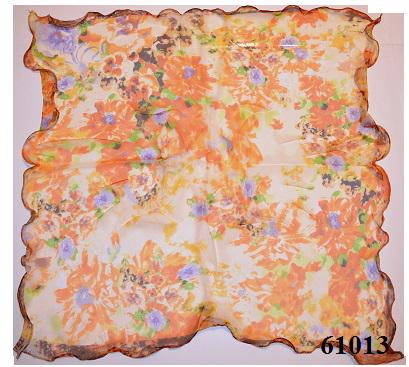 Нежный шейный платок 60*60  (61013) 3