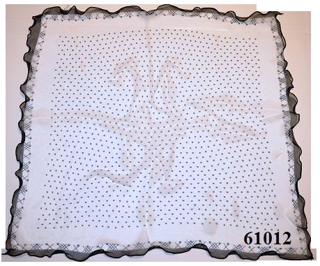 Нежный шейный платок 60*60  (61012) 3