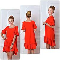 Платье 789 красный