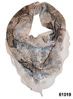 Нежный шейный платок 60*60  (61019), фото 1