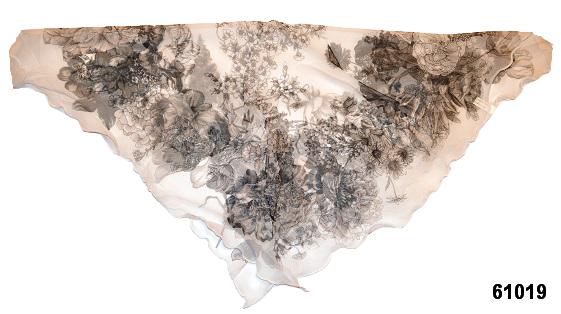 Нежный шейный платок 60*60  (61019) 2