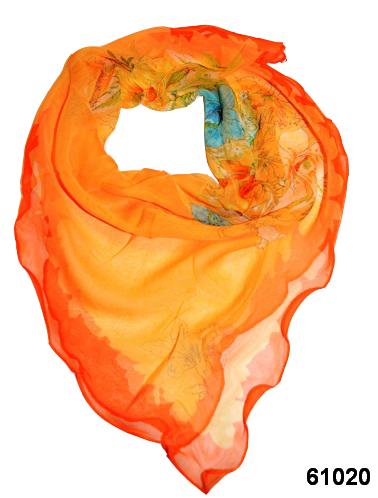 Нежный шейный платок 60*60  (61020) 1