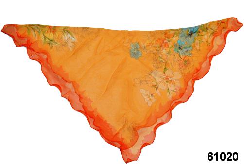 Нежный шейный платок 60*60  (61020) 2