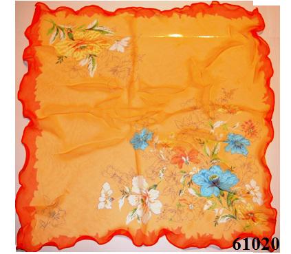 Нежный шейный платок 60*60  (61020) 3