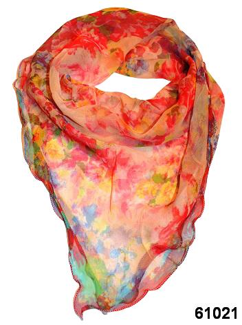 Нежный шейный платок 60*60  (61021) 1