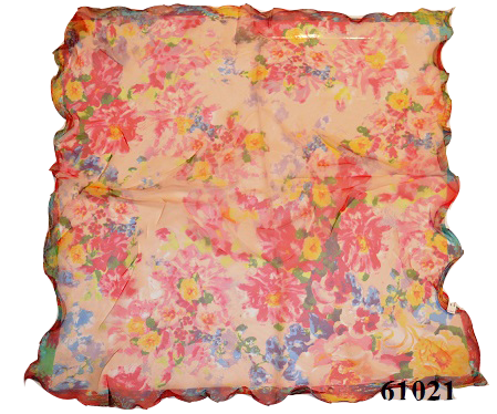 Нежный шейный платок 60*60  (61021) 3