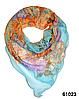 Нежный шейный платок 60*60  (61023)