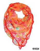 Нежный шейный платок 60*60  (61024), фото 1