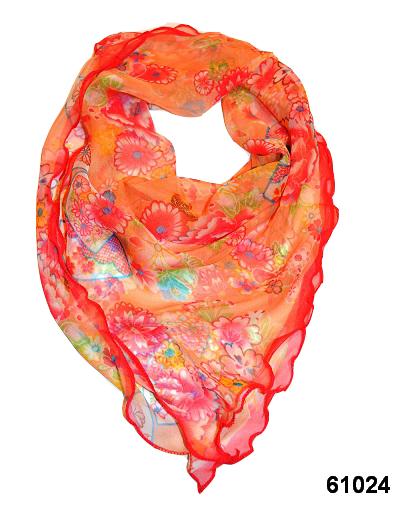 Нежный шейный платок 60*60  (61024) 1