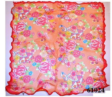 Нежный шейный платок 60*60  (61024) 3