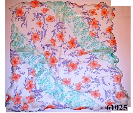 Нежный шейный платок 60*60  (61025) 3