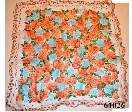 Нежный шейный платок 60*60  (61026) 3