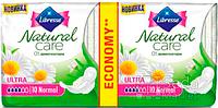 Прокладки гигиенические Libresse Natural Care Ultra Normal 20 шт 4 капель