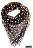 Нежный шейный платок 60*60  (61027)