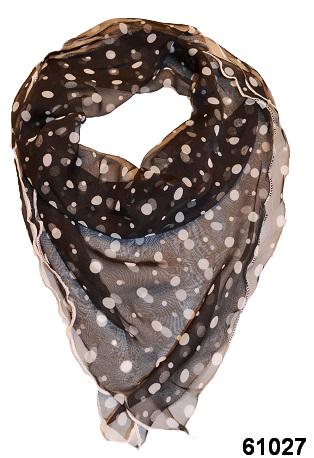 Нежный шейный платок 60*60  (61027) 1