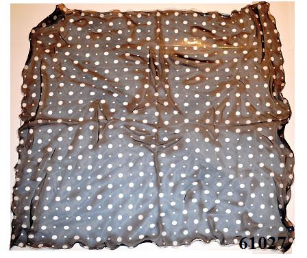 Нежный шейный платок 60*60  (61027) 3