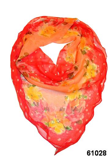 Нежный шейный платок 60*60  (61028) 1