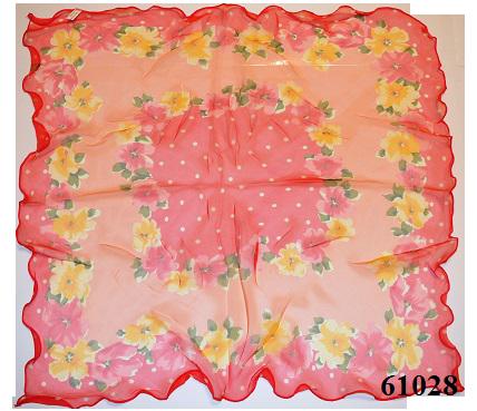Нежный шейный платок 60*60  (61028) 3