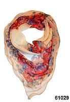 Нежный шейный платок 60*60  (61029), фото 1