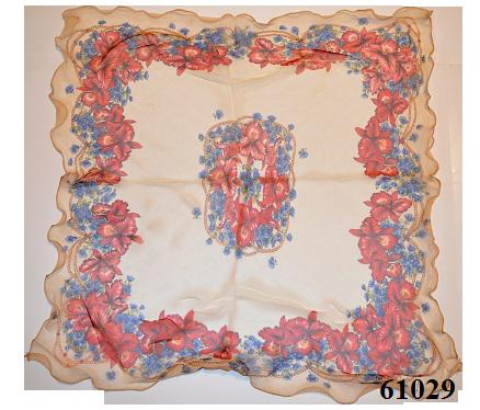 Нежный шейный платок 60*60  (61029) 3