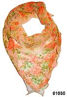 Нежный шейный платок 60*60  (61030), фото 1