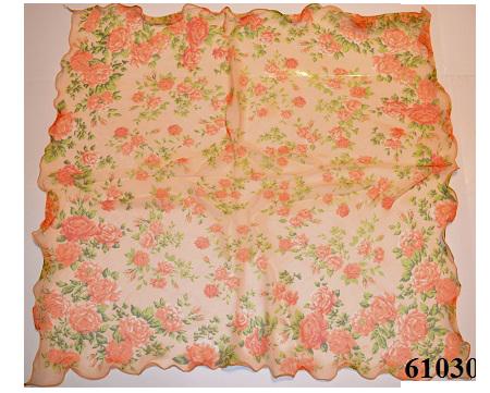 Нежный шейный платок 60*60  (61030) 3