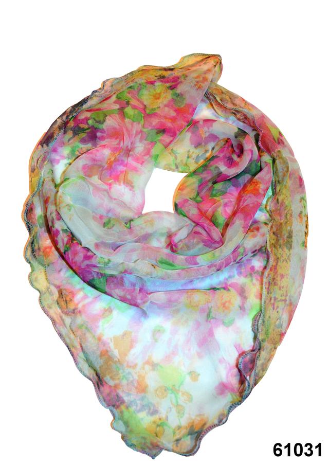 Нежный шейный платок 60*60  (61031) 1