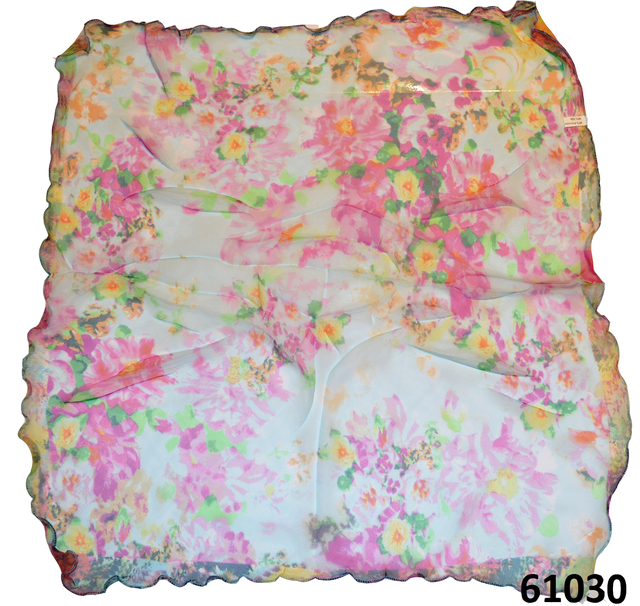 Нежный шейный платок 60*60  (61031) 3